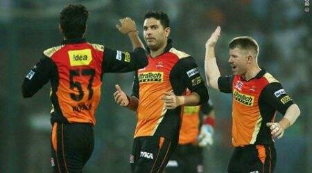 SRH vs KKR, IPL 2016: SRH beat KKR, to face GL in Qualifier 2
