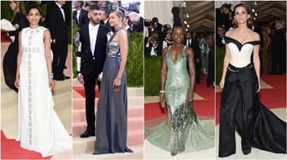 Freida, Zayn Malik, Gigi Hadid, Emma Watson, Lupita Nyong'o at MET Gala2016