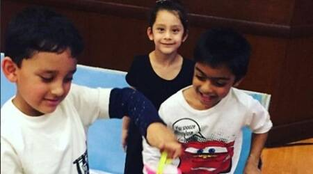 Sanjay Dutt and Kajol's kids are good friends, see pic