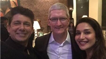 Madhuri Dixit Nene loved meeting Apple CEO Tim Cook
