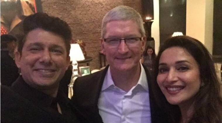 Madhuri Dixit Nene, Madhuri Dixit, Tim Cook, Apple, Apple India, Tim Cook India, Apple CEO India, Entertainment news