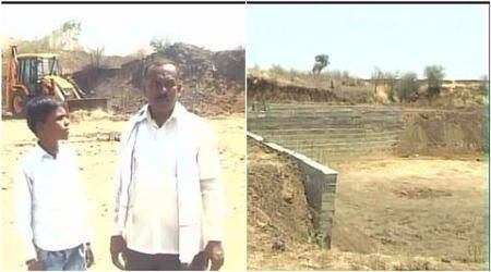 Neglected by Maharashtra govt, Akola farmer builds dam after selling land