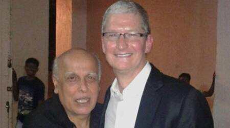 Apple's Tim Cook discusses India plans and Bollywood with Mahesh & MukeshBhatt