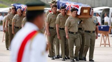 Vietnam War: After decades, remains of 32 Australian soldiers taken back home fromMalaysia