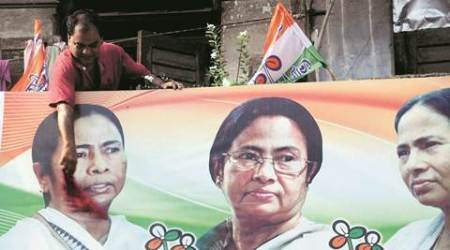 west bengal assembly elections, west bengal polls, TMC, trinamool congress, mamata banerjee, exit polls, west bengal exit polls, indian express elections, partha cahtterjee, CPM, indian express news