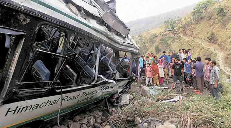Himachal: 22 killed, 78 injured in twin bus accidents