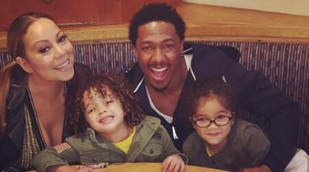 Mariah Carey, Nick Cannon enjoy dinner with their children