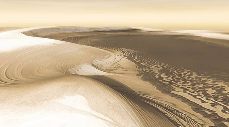 Scientists are keenly interested in piecing together the climate history of Mars, which contains strong evidence that oceans and lakes once pooled on its surface (Source: Reuters)
