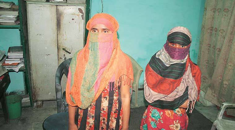 Soon after the girls confessed, their mother left home without informing them, taking along their brother. (Express Photo)