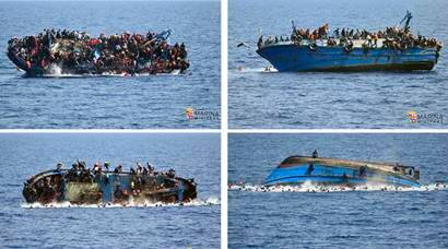 European migrant crisis: Over 700 feared dead in multiple Mediterranean shipwrecks