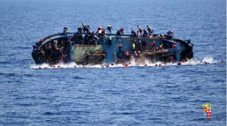 migrant crisis, EU migrant crisis, Libya, Mediterranean, Mediterranean sea, Mediterranean sea migrant, European Union migrants, European Union, Greece migrant crisis, migrant boat, Greece migrant boat