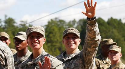 Women prowess power US Military