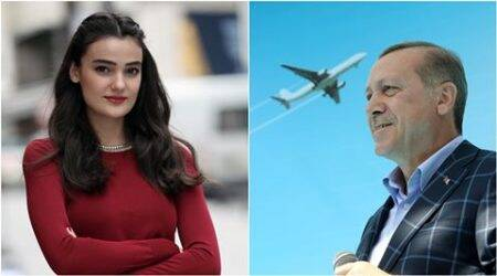turkey, Tayyip Erdogan, miss turkey, miss turkey jailed, Merve Buyuksarac jailed, anti erdogan post, anti erdogan comment punishment, turkey anti erdogan, turkey news, world news, latest news
