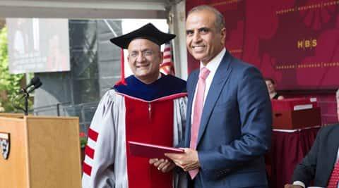 sunil mittal, harvard business school, alumni achievement award, havard award sunil mittar, bharti enterprises, airtel