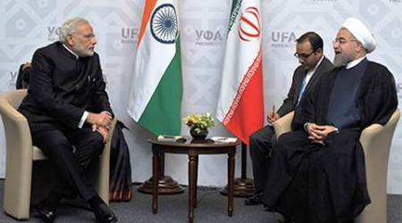 india, iran, Narendra Modi, Chabahar port, india Chabahar port project, Modi Iran, Modi iran visit, PM Modi in Iran, PM Modi iran visit, Modi in iran, Hassan Rouhani, india news, iran news, latest news