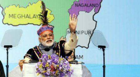Delhi's focus on removing NE isolation through pro-active Act East Policy: Narendra Modi in Shillong