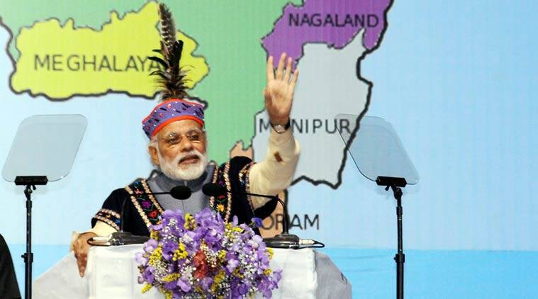 Narendra modi, Narendra modi Shillong, PM modi Shillong, PM modi meghalaya, Narendra modi meghalaya, north east, PM modi north east, Act East Policy, NE isolation, india news