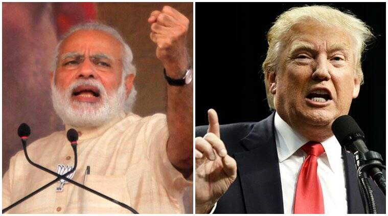donald trump news, narendra modi news, india news, indian express news