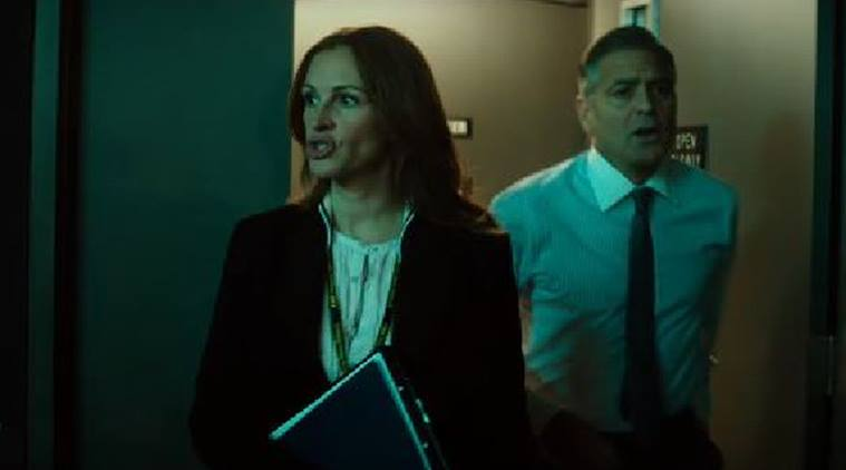 Money Monster, Money Monster review, Money Monster movie review, Money Monster film review, George Clooney, Julia Roberts, Money monster ratings, money monster stars, Entertainment news