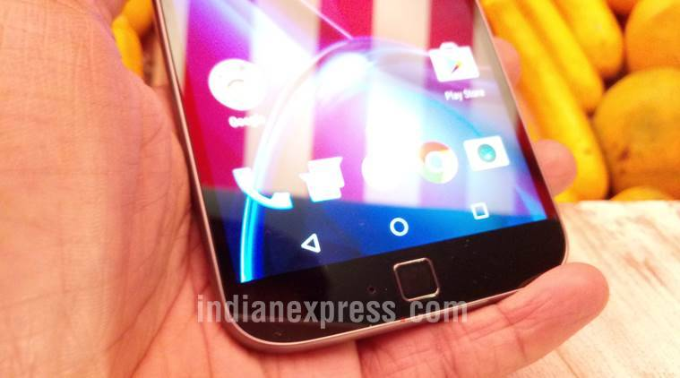 Moto G4 Plus' home button also doubles up as fingerprint scanner. Motorola claims its device unlocks in less than 750 milliseconds
