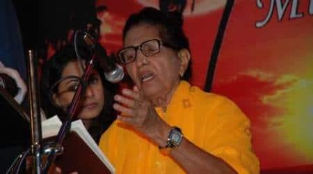 Noted Bollywood singer Mubarak Begumhospitalised