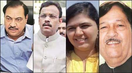Mumbai civic polls, BMC, BJP, maharashtra BJP, mumbai development,narendra modi, eknath khadse, devendra fadnavis, indian express mumbai, mumbai news