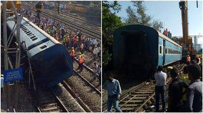 Local train derails in Mumbai, disrupts services on Western line briefly