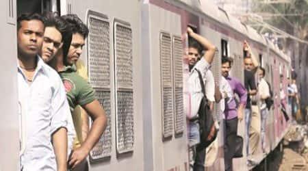 Mumbai local trains see dip incrowd