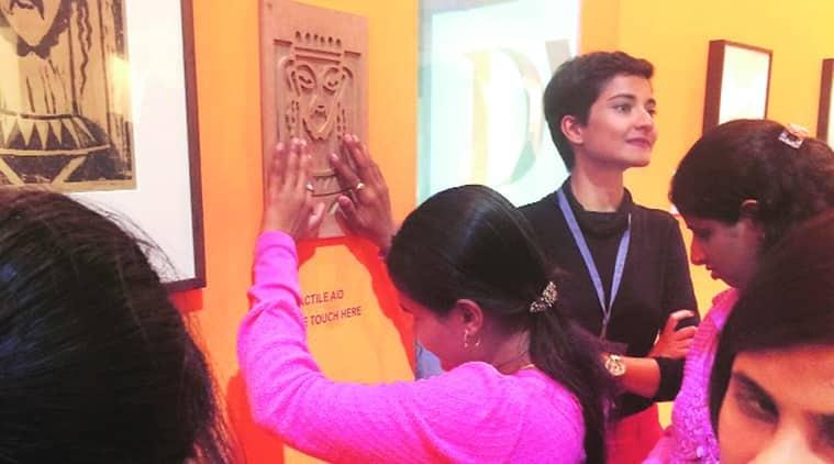 Mumbai, Mumbai art gallery, art gallery, Mumbai visually challenged, visually challenged, mumbai tactile aids, tactile aids, Mumba DAG Modern, DAG Modern, mumbai news