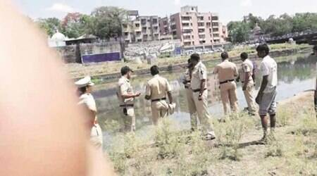 Severed head found floating on water in Maharashtra's Muthariver