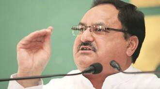 Country taking strides in health sector, UP still behind, says JPNadda
