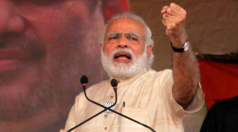 Narendra Modi, Narendra Modi rally, Modi rally, BJP, Bharatiya Janata Party, BJP rally, Congress, Vikas parv rally, congress free india, india news