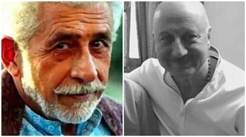 Naseeruddin Shah, Naseeruddin Shah Anupam Kher, Naseeruddin ANUPAM, Naseeruddin ANUPAM Controversy, Anupam Kher, Anupam Kher NEWS, Anupam Kher FILM, ENTERTAINMENT NEWS