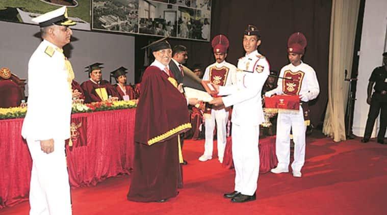 NDA, JNU, JNU degree, NDA cadets, degrees, NDA cadets degrees, BA in social science degree, cOEp, indian army, NDA topper, Battalion Cadet Captain Naman Bhatt, indian express news, education news