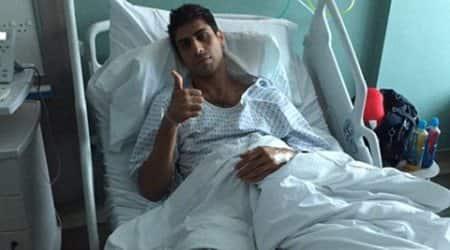 Ashish Nehra, Nehra injury, Nehra surgery, Ashish Nehra knee surgery, SRH, VVS Laxman, IPL, IPL 2016, knee injury, sports news, sports, cricket news, Cricket
