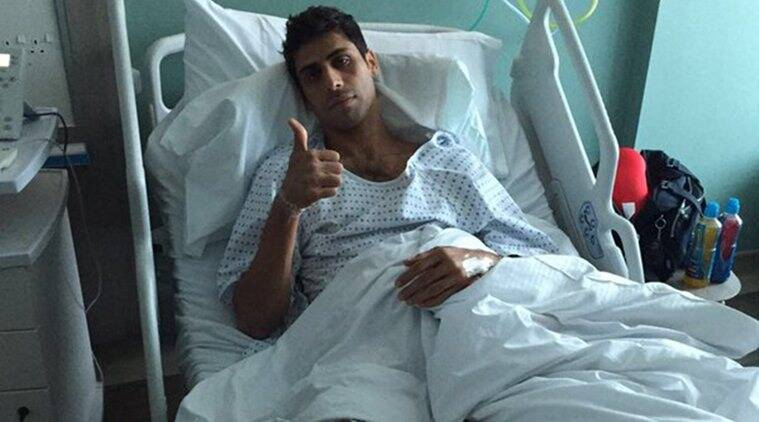 Image result for nehra injured