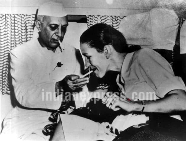 jawaharlal nehru, nehru, nehru gandhi, nehru first prime minister, nehru gandhi photos, nehru edwina photos, nehru indira gandhi photos, nehru mountbattten photos, nehru rare photos, nehru death anniversary, jawaharlal nehru rare pics, india news, nehru historic photos, nehru news, latest news