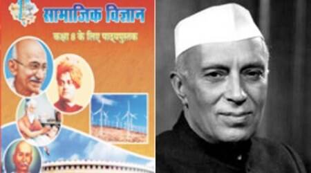 jawaharlal nehru textbook, rajasthan textbook nehru, nehru textbook row, rajasthan school book nehru, rajasathan news, india news, latest news