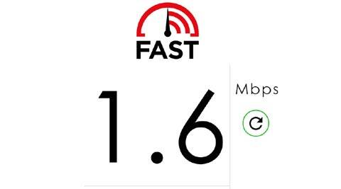 Netflix's Fast.com tool will check your Internet speed