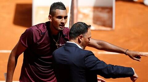 Tennis - Madrid Open - Stan Wawrinka of Switzerland v Nick Kyrgios of Australia