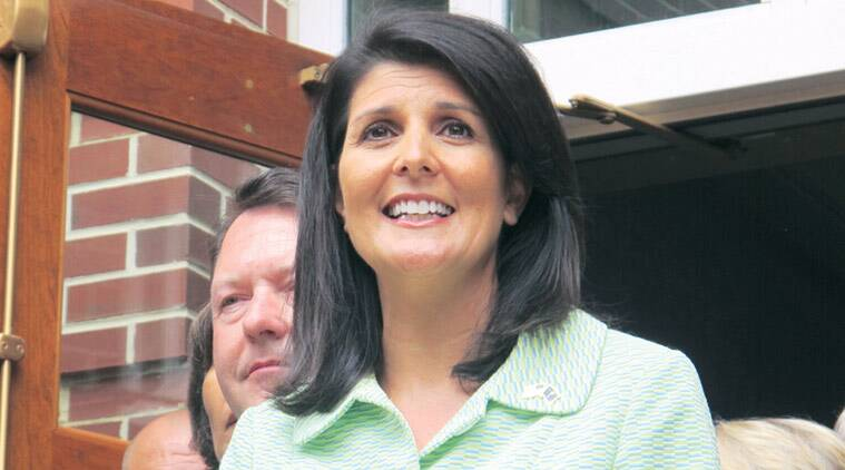 Nikki Haley, Haley, Donald Trump, Trump, Trump cabinet, Trump Nikki Haley, Nikki Haley Trump, Trump Nikki Haley UN envoy, UN envoy, US, US news, world news, indian express news