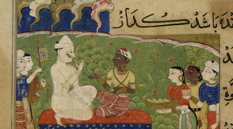 Nimatnama, Book of Pleasures, Ghiyath Shah, sultan of Malwa, culinary adventures, food and art, mughal food, food history,