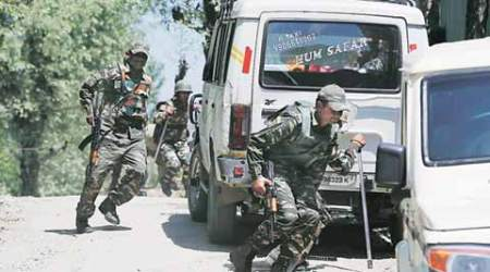 3 militants, Armyman killed in north Kashmir encounters