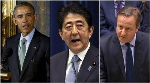 G7, G7 summit, Japan, Japan PM, Japan Prime Minister, Japan PM Shinzo Abe, Shinzo Abe, ABe, Barack Obama, Obama, US, US president, US president Barack Obama, David Cameron, British PM, Cameron, G7 summit on friday, G& summit topics, south china sea, Hiroshima, Obama Shinzo Abe, world news