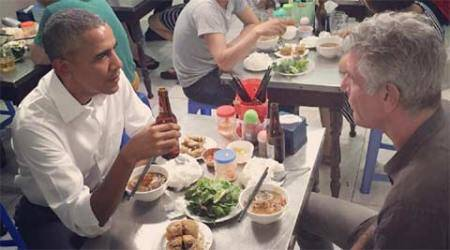 barack obama, anthony bourdain, obama, vietnam, obama in vietnam, Parts Unknown, Parts Unknown obama, obama on Parts Unknown, Parts Unknown season 8, anthony bourdain parts unknown, vietnam news, world news