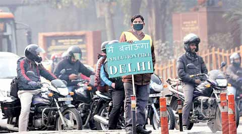 Delhi pollution, Delhi smog, ODD-Even, Odd Even rationing scheme, Car pooling, Anurag Thakur, BCCI, Om Puri, demonetisation, surgical strikes, letters to editor, Indian Express