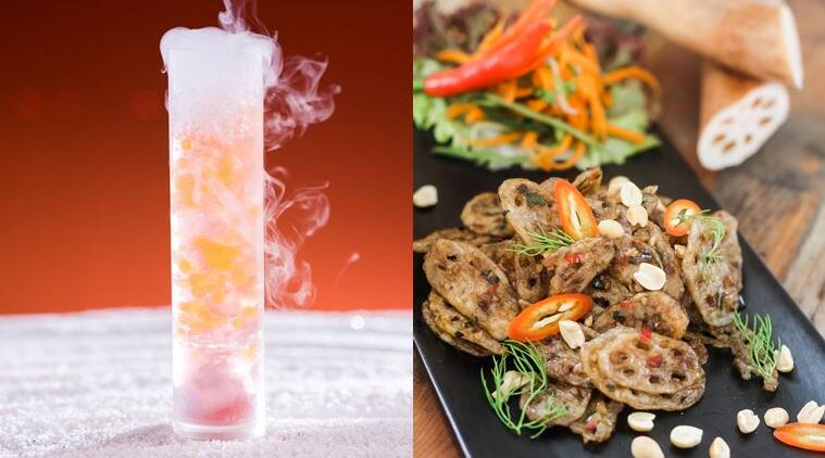 New and noteworthy one night in bangkok and chemistry 101 for Food 101 bar bistro