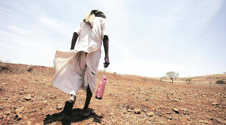 maharashtra water crisis, drought, waterless in marathwada, maharashtra water problem, open defecation, maharashtra drought, ODF, swacch bharat abhiyan, indian express news, latest news, drought news