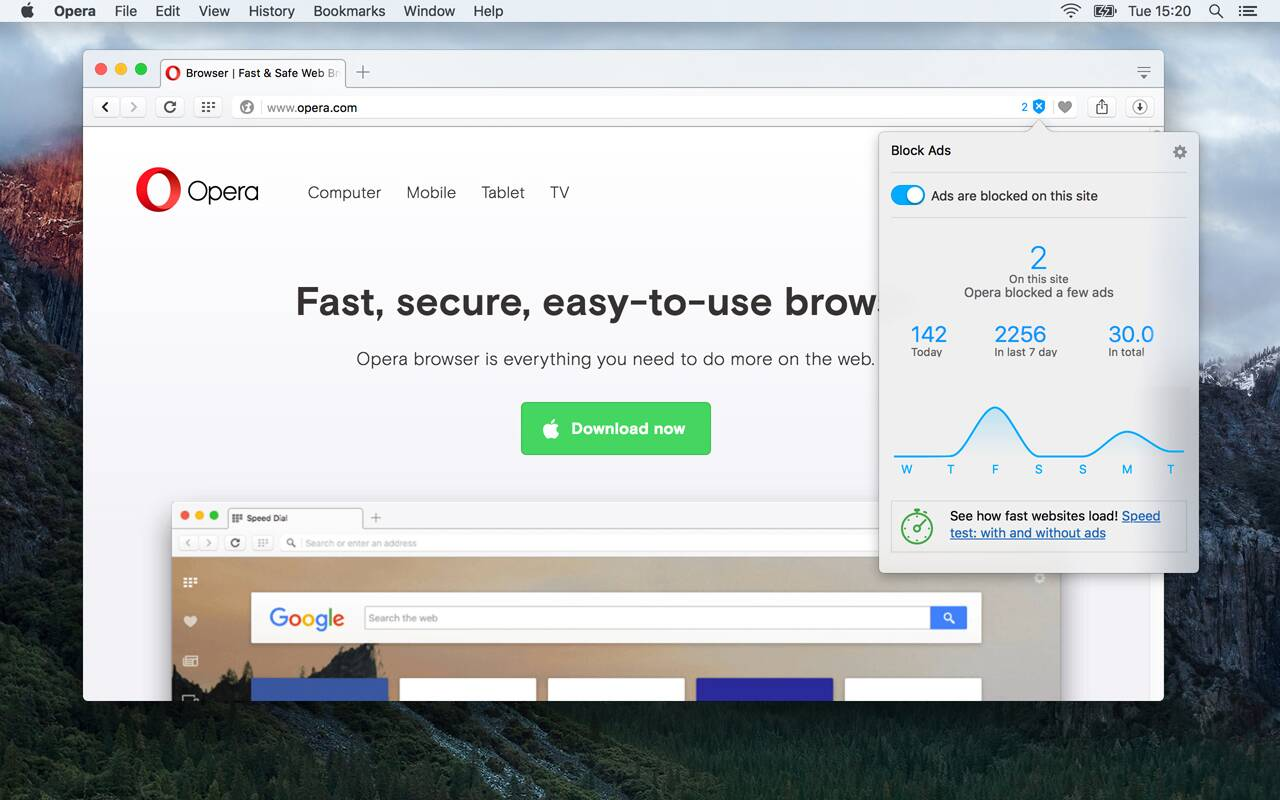 Opera browsers switches on native ad blockers: Here's why it matters