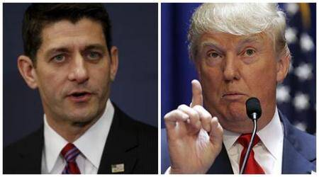 US elections: Paul Ryan says he's 'just not ready' to back Donald Trump